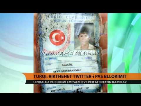 Rikthehet në Turqi Twitter-i - Top Channel Albania - News - Lajme