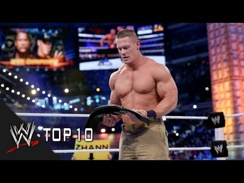 WrestleMania Championship Changes - WWE Top 10