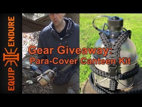 ParaCover Canteen Kit Giveaway by Equip 2 Endure and The Canteen Shop