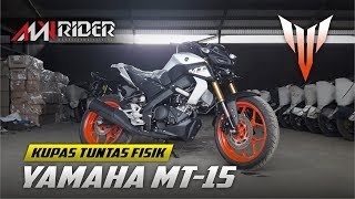 🔴FULL REVIEW FISIK YAMAHA MT15 2019 - First Impression || AMV Rider