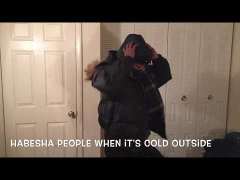 Funny Habesha Videos Habeshas Reaction When It's Cold