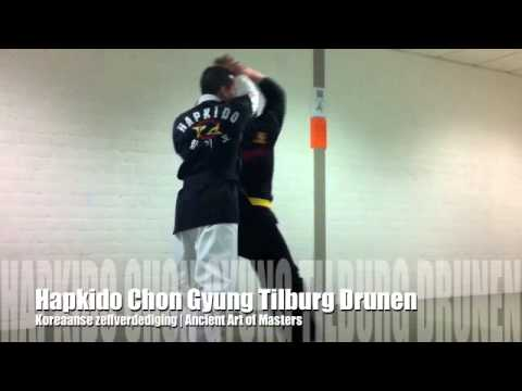 Hapkido training gele band (yellow belt) - Chon Gyung Hapkido Tilburg Drunen Image 1
