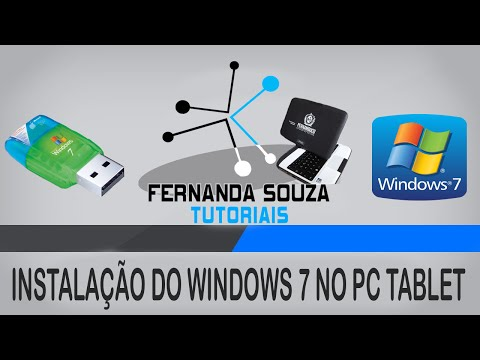 1º Tutorial: Como formatar o Tablet-PC da CCE para instalar o Windows 7.