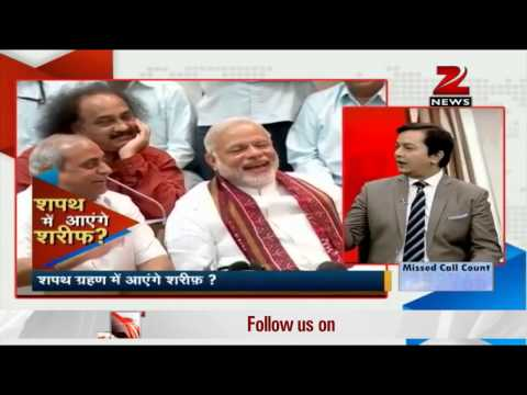 Narendra Modi's swearing-in ceremony: Pakistan's PM Nawaz Sharif invited