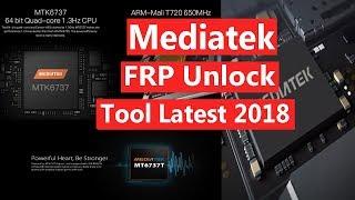 Mediatek Frp Unlock Tool MTK FRP File Latest 2018
