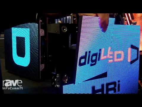 InfoComm 2014: digiLED Explains the Technology in the HRi Panel