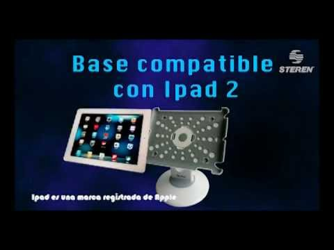 Video que explica el funcionamiento de la Base compatible con ipad