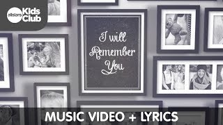 I WILL REMEMBER | Grief music video + lyrics for kids and families dealing with grief