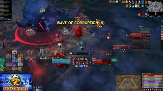 Pieces vs. Mythic G'huun - World 5th - Billyonaire Fire Mage