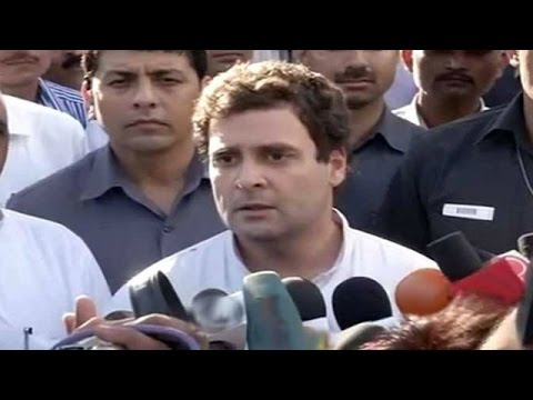 'Power cuts here, PM Narendra Modi playing drums'  Rahul Gandhi