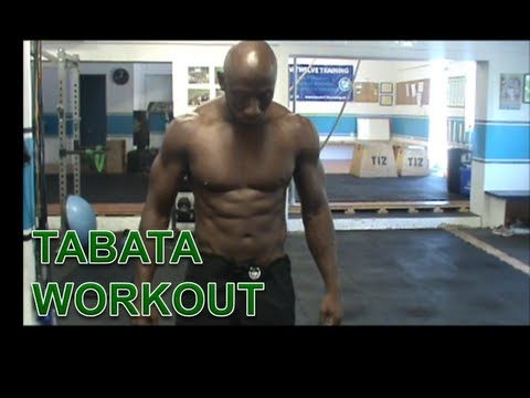 TABATA WORKOUT - PLYOMETRICS