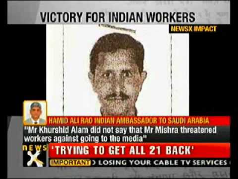Trapped Indian labourers to leave Riyadh: Sources-NewsX