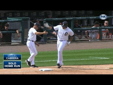 SF@DET: Miggy launches his second homer of the game