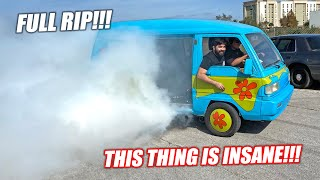 ROTARY Swapped Mystery Machine EP.5 SERIES FINALE - Cooper's First Rotary Micro Van BURNOUT!!!