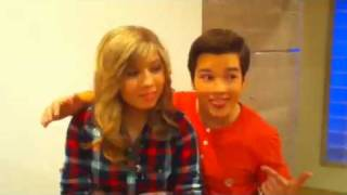 iCarly: Jennette & Nathan talk TONIGHT