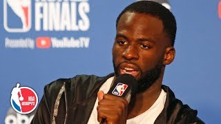 'I've been on the wrong side of 3-1 before' - Draymond Green Game 4 postgame | 2019 NBA Finals