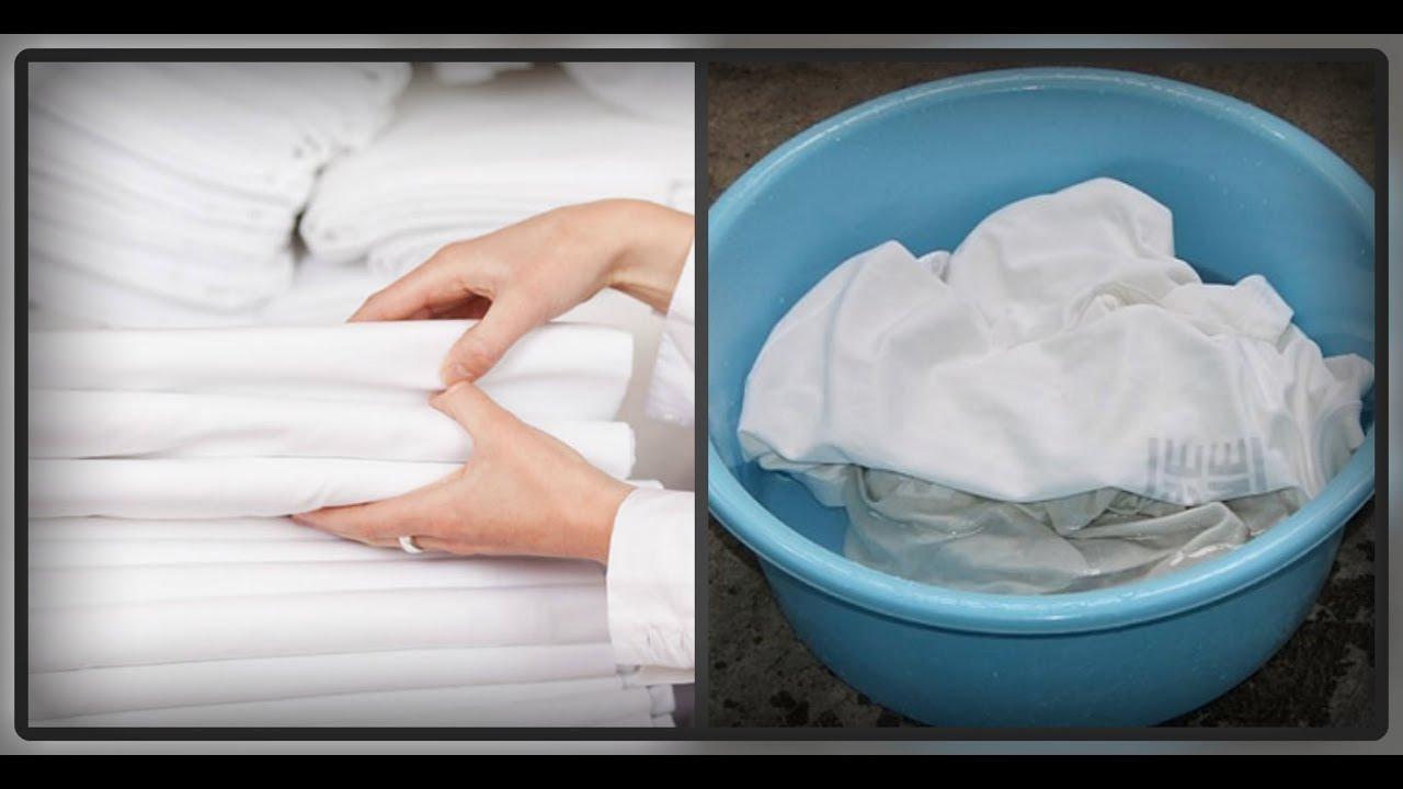 Чем отбелить постельное бельё в домашних условиях  887