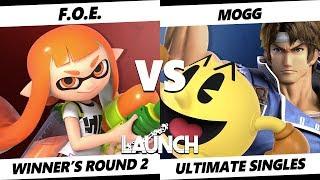Launch Smash Ultimate - F.O.E. (Inkling) VS Mogg (Richter, Pac-Man) SSBU Winner's Round 2