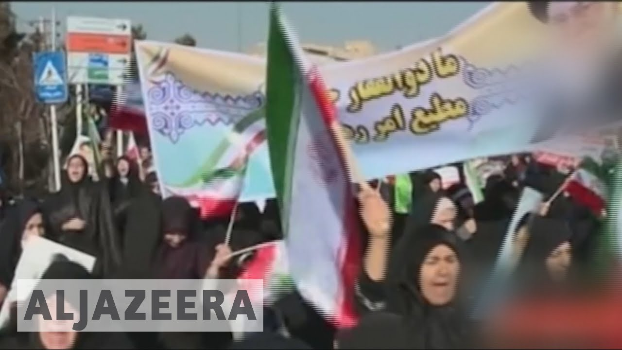 Pro-government rallies in Iran ahead of United Nations meeting