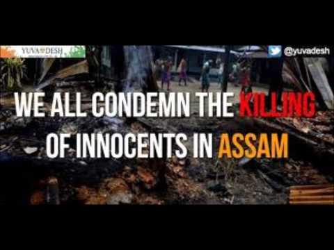 A Talk on Assam Violence by Hiren Gandhi