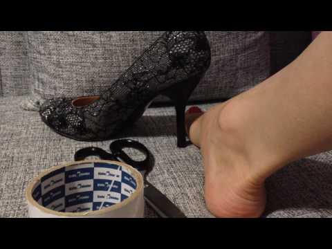 Как сделать чтобы ноги не скользили