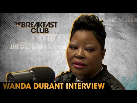 Wanda Durant Interview at The Breakfast Club Power 105.1 (05/06/2016)