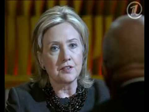 Pozner. Interview with Hillary Clinton 1/5 [ENG]