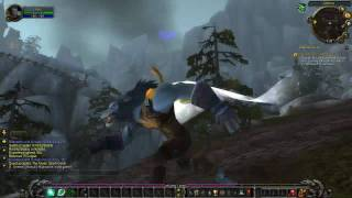 ▶ World of Warcraft - Worgen Darkflight! (unique racial ability) - TGN.TV