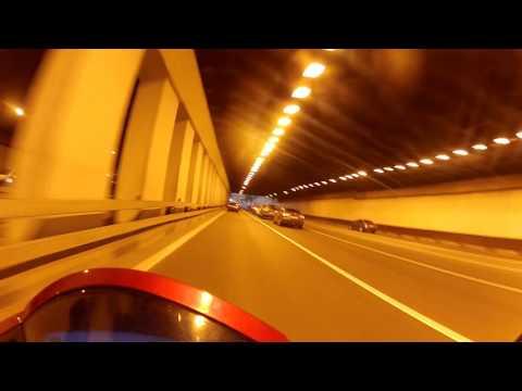 ДТП в Беговом тоннеле ул. Новая Башиловка под Ленинградским проспектом, Москва