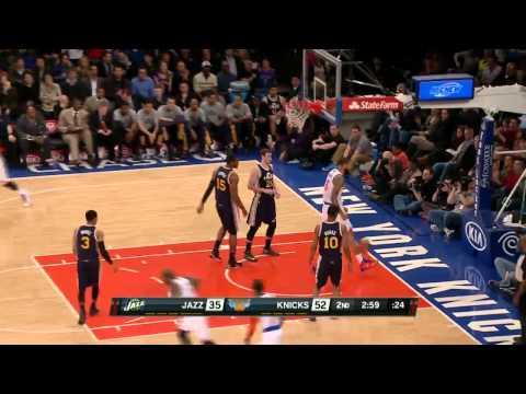 Utah Jazz vs New York Knicks | March 7, 2014 | NBA 2013-14 Season