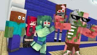 Monster School : TRULY BRAVE - Minecraft Animation