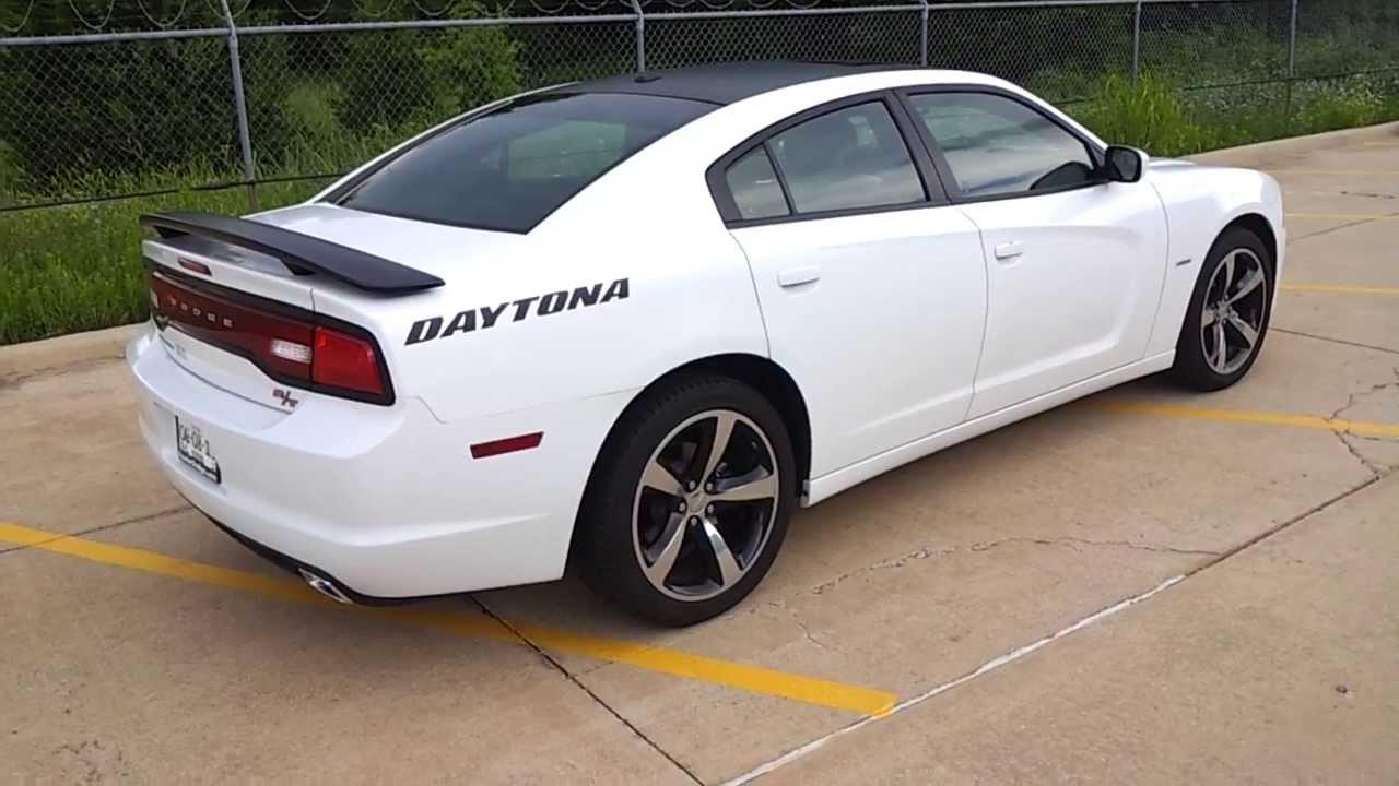 2017 Dodge Charger Rt White >> 2013 Charger Daytona (white edition) - YouTube