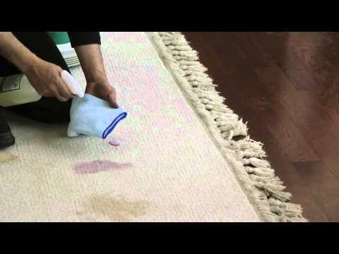 Limpieza de alfombras remover chicle y manchas youtube - Alfombras faciles de limpiar ...