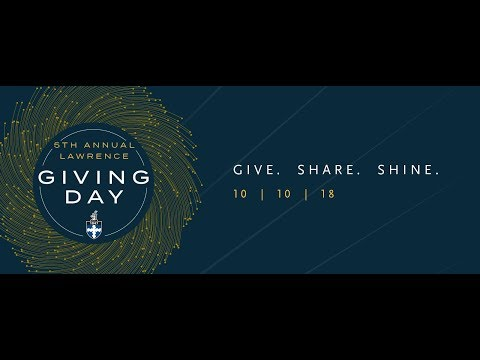 Lawrence Giving Day 2018