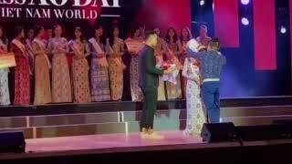 """""""Miss Áo dài Việt Nam World 2017"""", Praha, 07dec17."""