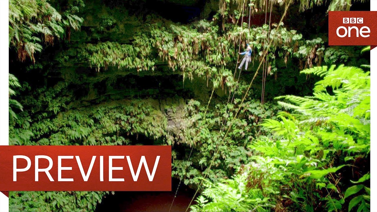 Abseiling a volcano - Galapagos: Episode 3 Preview - BBC One