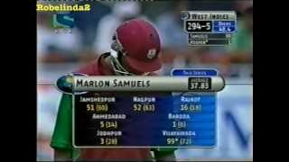 Marlon Samuels 108* vs India 2002 7th ODI