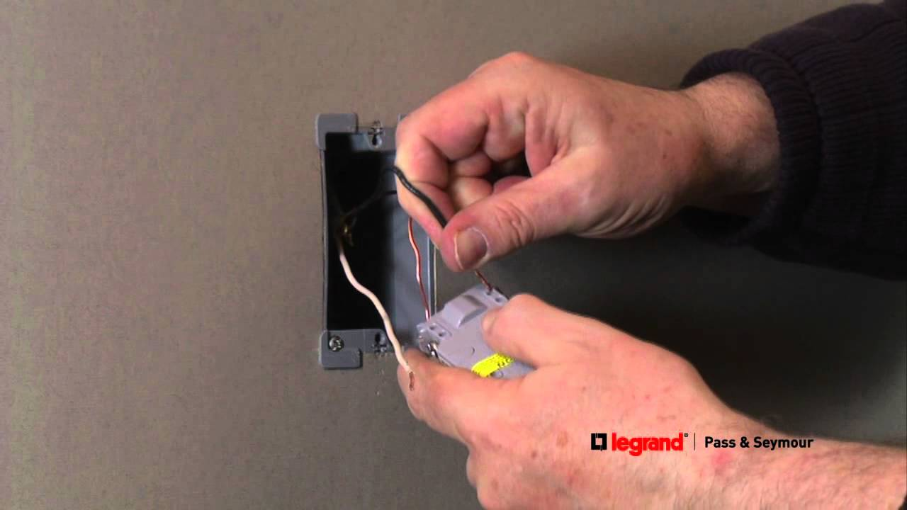 Pass  U0026 Seymour  How To Install A Gfci Outlet