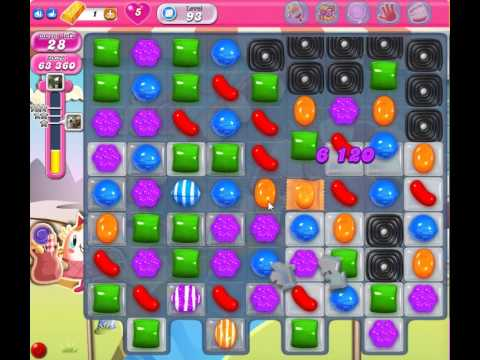 Candy Crush Saga Level 93