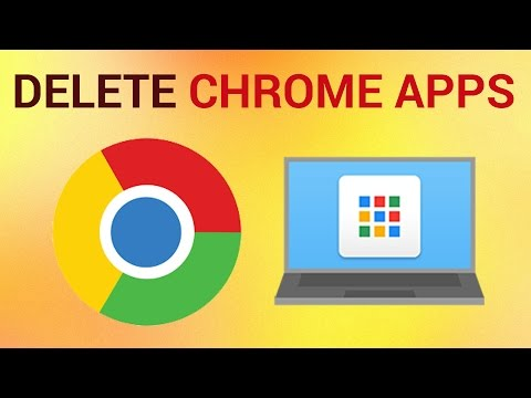 How to Delete Google Chrome apps