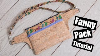 Fanny Pack Tutorial