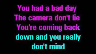 Daniel Powter - Bad Day (Lyrics on Screen)