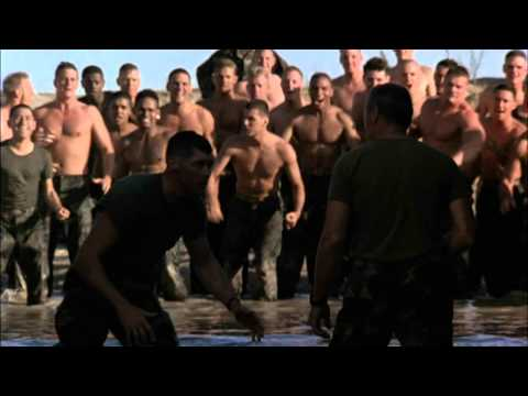 Clint Eastwood Fight Scene Heartbreak Ridge (german)