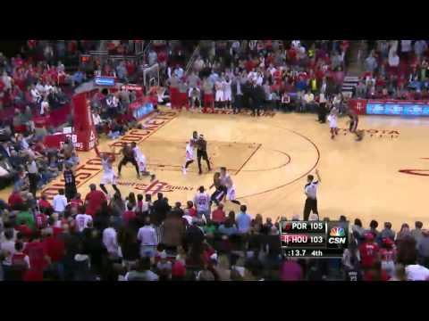 Portland Trail Blazers vs Houston Rockets | March 9, 2014 | NBA 2013-14 Season