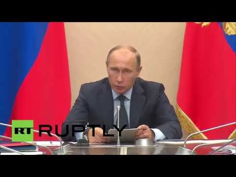 Russia: Putin says economy must diversify to avoid oil dependence