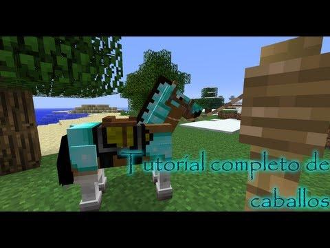 Minecraft tutorial: Todo sobre caballos (como domar. criar...) - Minecraft 1.6/1.7/1.8