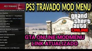 URGENTE! GTA 5 ONLINE - MODMENU ATUALIZADO+LINK 2018 (PS3 TRAVADO)
