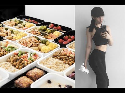 Meal Prep With Me: Healthy Breakfast, Snacks, Mains // Rachel Aust