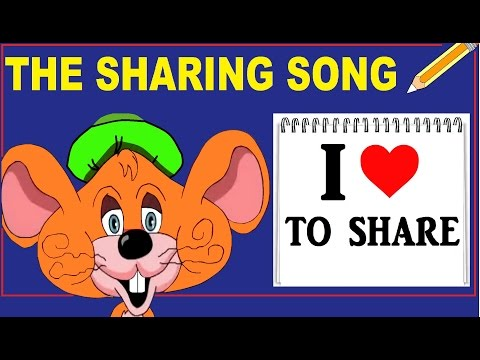 THE SHARING SONG - with Lyrics