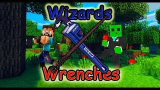 Minecraft|Wizards and Wrenches S1E14| Wolf's  Derpy Death